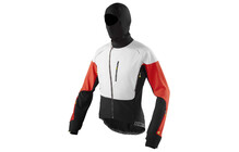 Mavic Inferno Jacket Men white/bright red